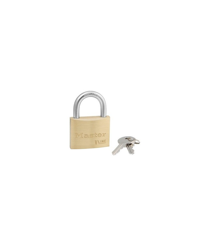 Cadenas en laiton massif master lock 4160 pour application - Cadenas master lock ...