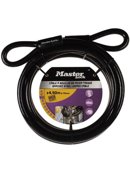 Câble à boucles MASTER LOCK 69EURD