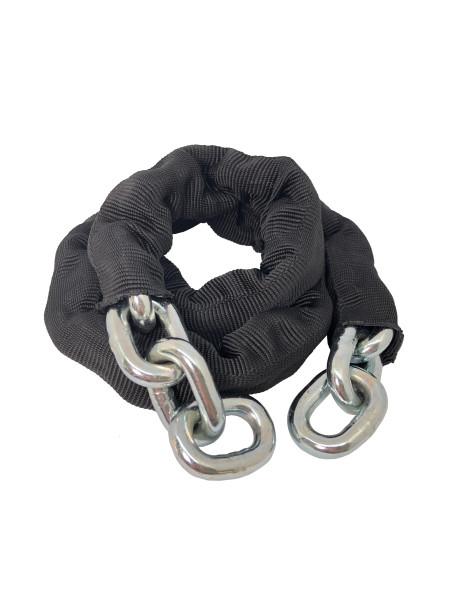 Chaîne antivol TOKOZ 1 m avec gaîne en tissu noir