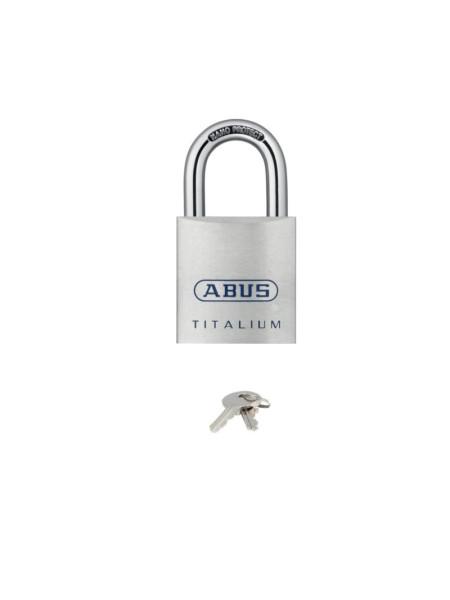 Cadenas à clé ABUS TITALIUM 80TI/50