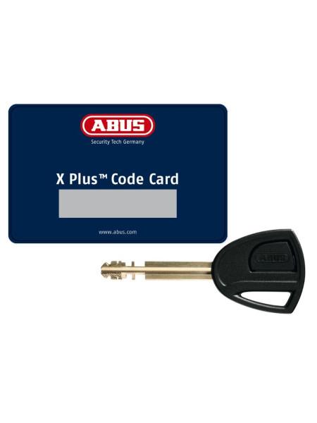 Carte code bloque disque SRA ABUS Granit Detecto X-PLUS 8077 avec alarme